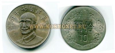 фото монеты 10 юаней